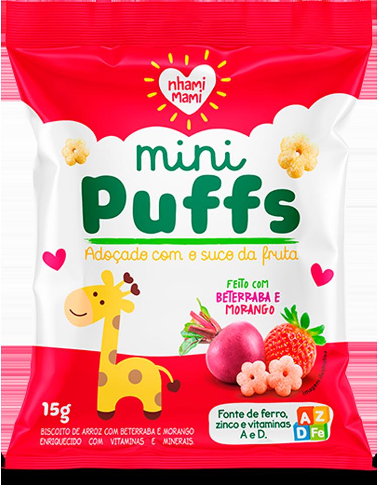 Mini Puff Berraba e Morango